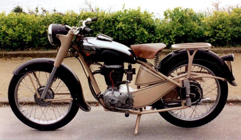 Motobécane Type Z22C De 1954